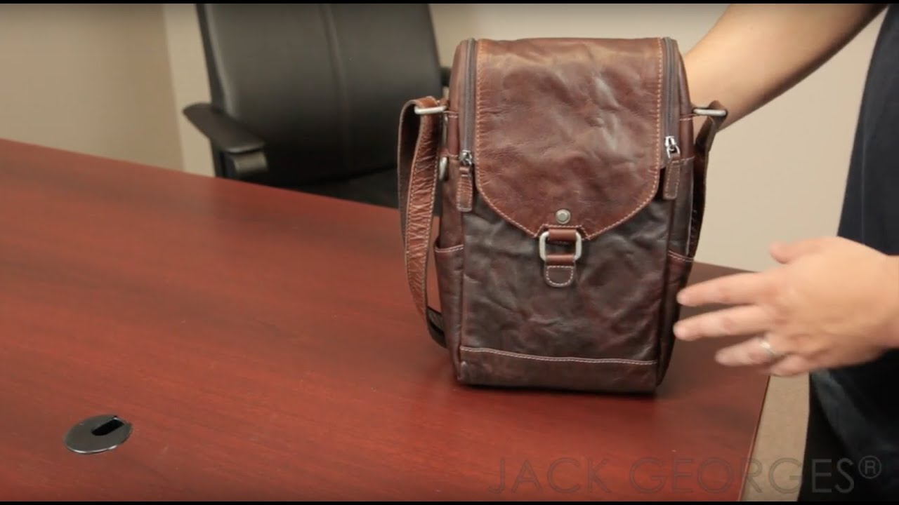 a4206c47fc Product Overview  Voyager Crossbody Messenger   Wine Bag (7513). Jack  Georges Inc.
