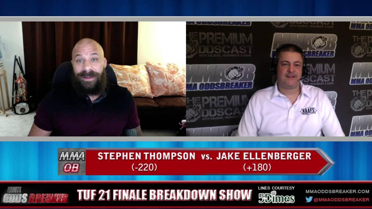 TUF 21 Finale Breakdown Show w/ Frank Trigg and Nick Kalikas