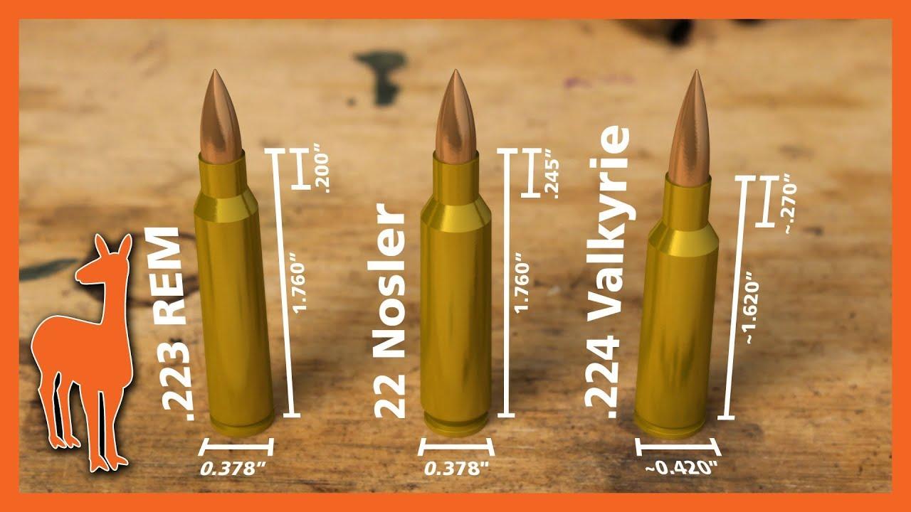 224 valkyrie vs 22 nosler vs 223 remington wild speculations