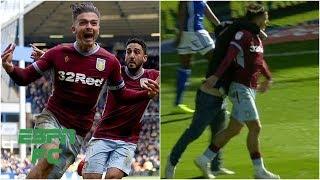 Aston Villa's Jack Grealish attacked by fan in derby win vs. Birmingham City | EFL Highlights