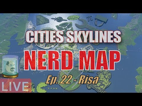 CitiesSkylines   Nerd Map Ep 22   Risa (The planet, not the human