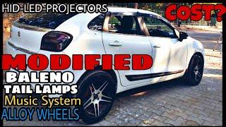 "Modified Cars/Nexa Baleno Modified/16"" X2 Alloys/ Pioneer Touchscreen Stereo/Premium Seat Covers Video"