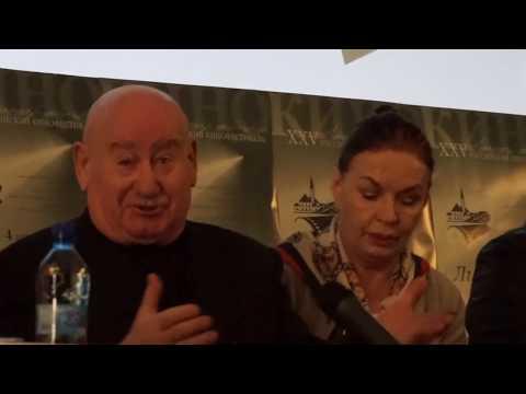 Людмила Чурсина на кинофестивале в Гатчине.4 апреля 2019г.