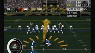 "NFL 2k5 - ESPN 25th Anniversary - ""Vinatieri Strikes Again"""