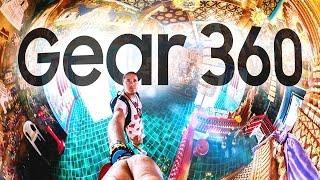 NUOVA TELECAMERA 360 in 4K • Recensione Samsung Gear 360