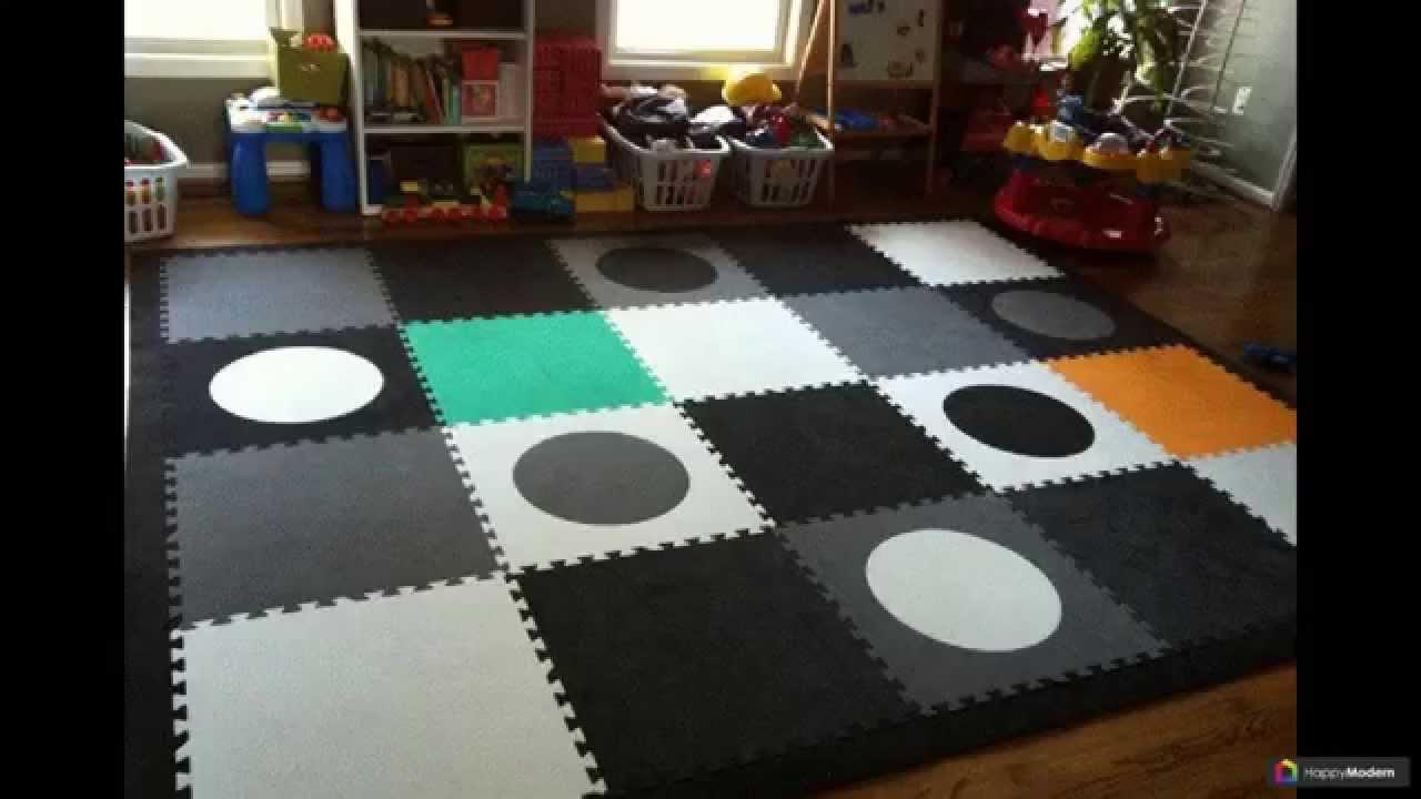 Мягкий пол для детских комнат - Интернет магазин
