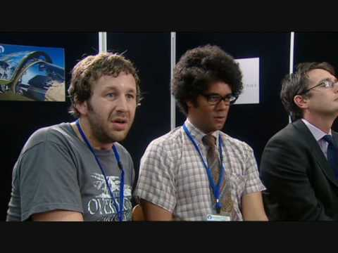 The IT Crowd - Jen Brings the Internet to the Shareholders meeting - WIDESCREEN