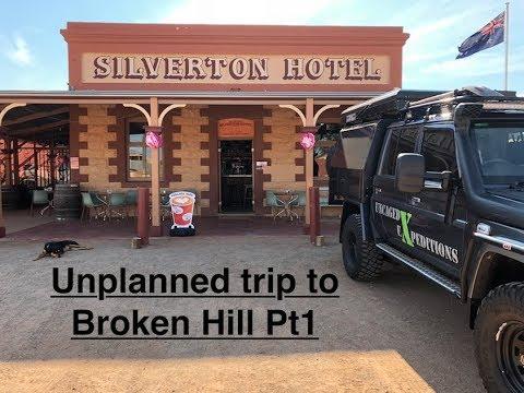 Unplanned trip to Broken Hill Pt1