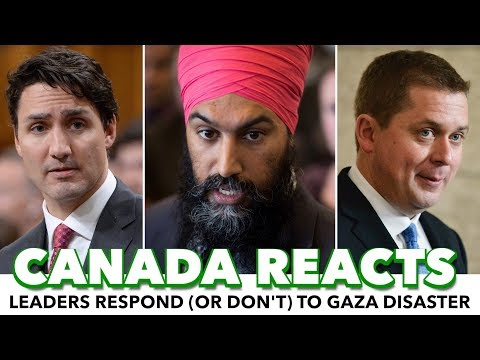 Jagmeet Singh Calls For Investigation Into Israel As Trudeau And Scheer Silent