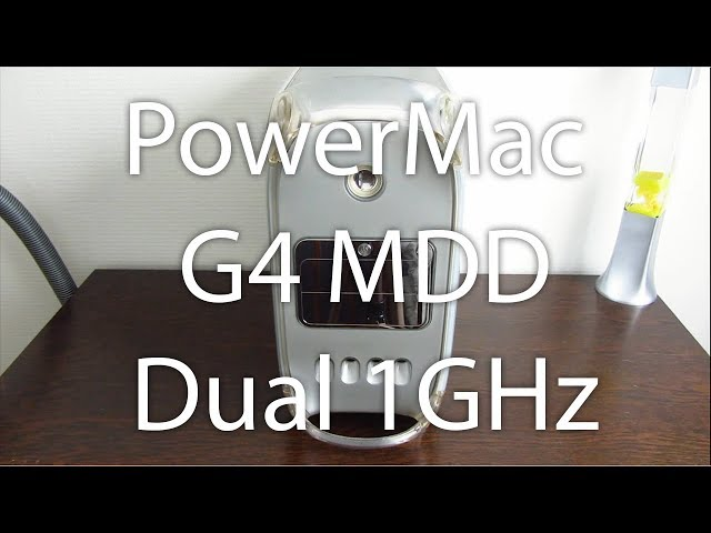 Apple PowerMac G4 MDD - Dual 1GHz - Overview