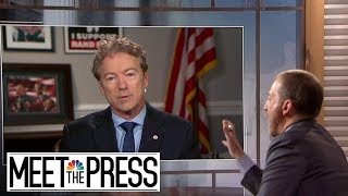 Full Paul: White House Is Making 'Big Mistake' Denying Quid Pro Quo | Meet The Press | NBC News