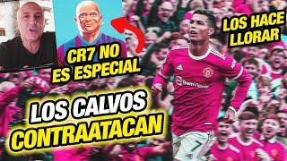 Cristiano Ronaldo HACE LLORAR al CALVISMO (CR7 NO TIENE TALENTO Y NO ES TOP 5 EN LA HISTORIA)