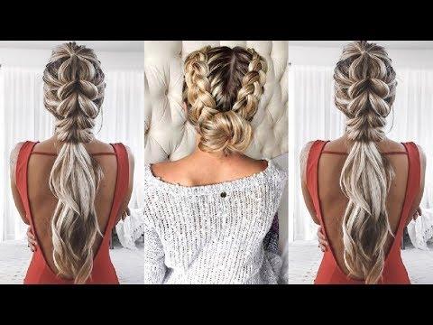 Peinados Faciles 2018 Para Cabello Corto Y Largo Peinados Trenzas