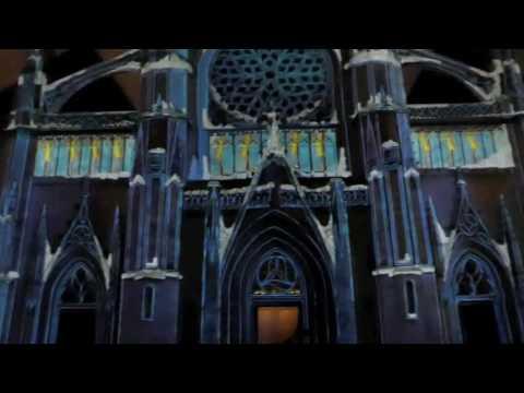 illuminations de l 39 eglise saint eloi dunkerque f tes de no l 2016 film complet youtube. Black Bedroom Furniture Sets. Home Design Ideas