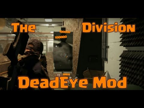 The Division - DeadEye Build - Mod Preview + Link [CronusMax]