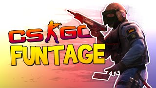 One of SMii7Y's most viewed videos: CS:GO FUNTAGE! - Flashbang Kill, SP00N Show & Bless UP! (CS:GO Funny Moments)