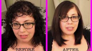 Brazilian Keratin Treatment! 30-Day Smoothing Treatment (Organix) Tutorial