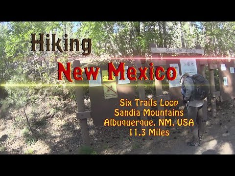 Day Hike: Six Trails Loop ~ Sandia Mountains ~ Albuquerque, New Mexico, USA