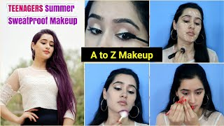 Complete Makeup for BEGINNERS using AFFORDABLE products - Summer SweatProof makeup - ThatGlamGirl
