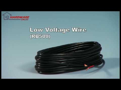 Mighty Mule RB509-100 Low Voltage Wire 100, 250, 500, and 1000 Foot ...