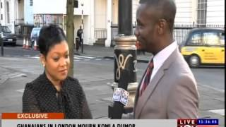 GHANAIANS IN LONDON MOURN KOMLA DUMOR