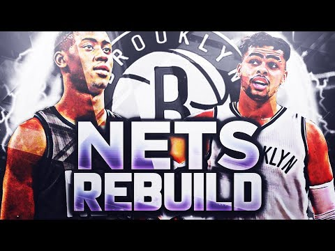 AMAZING STARTING 5!! BROOKLYN NETS REBUILD!! NBA 2K18