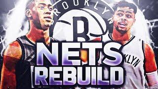 AMAZING STARTING 5!! BROOKLYN NETS REBUILD!! NBA 2K18