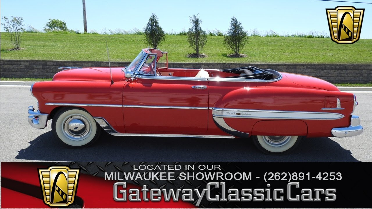 1953 Chevrolet Bel Air 253 Now In Our Milwaukee Showroom Youtube 1951 Convertible