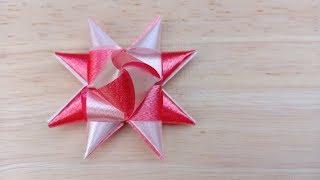 วิธีพับเหรียญโปรยทาน ดอกดาวกระจาย/Diy flower ribbon/21-5-62.