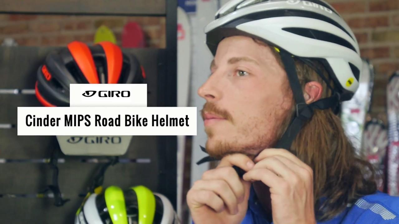 49e4490381d Giro Cinder MIPS Men s Road Bike Helmet - YouTube