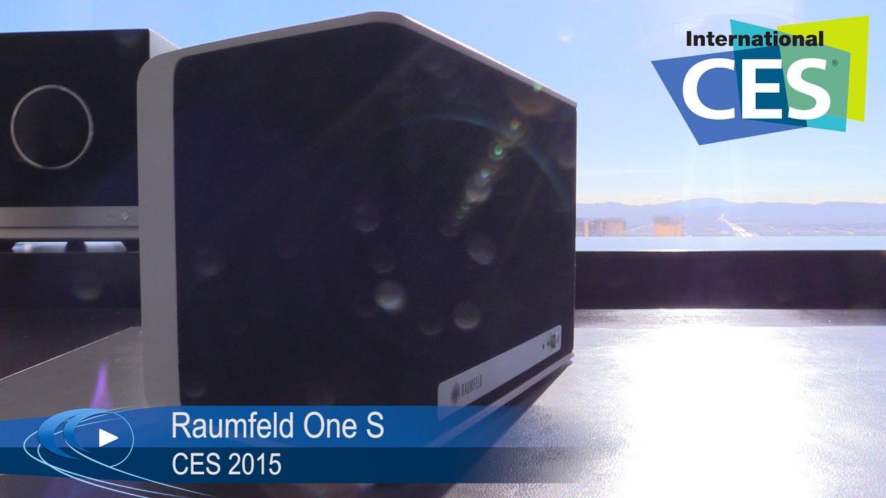 ces 2015: raumfeld one s kabelloser lautsprecher (german, Badezimmer ideen