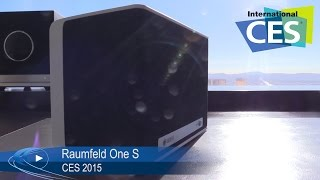 CES 2015: Raumfeld One S kabelloser Lautsprecher (German) | Allround-PC.com