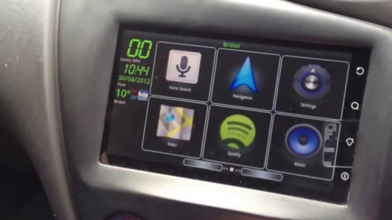 Android tablet in ford focus dash youtube android tablet in ford focus dash greentooth Choice Image