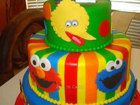 Sesame Street Cake YouTube