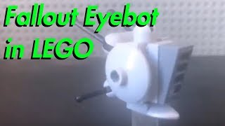 Fallout 4 Eyebot in LEGO! ( + How to Build )