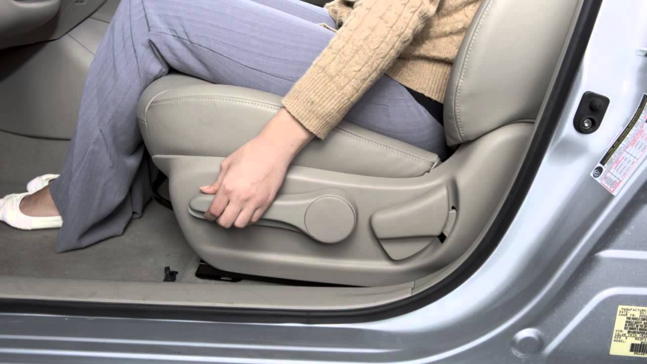 2015 Nissan Sentra Seat Adjustments Youtube