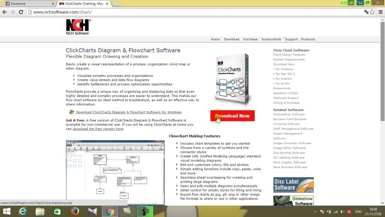 clickcharts registration code free