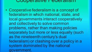 3 Types of Federalism