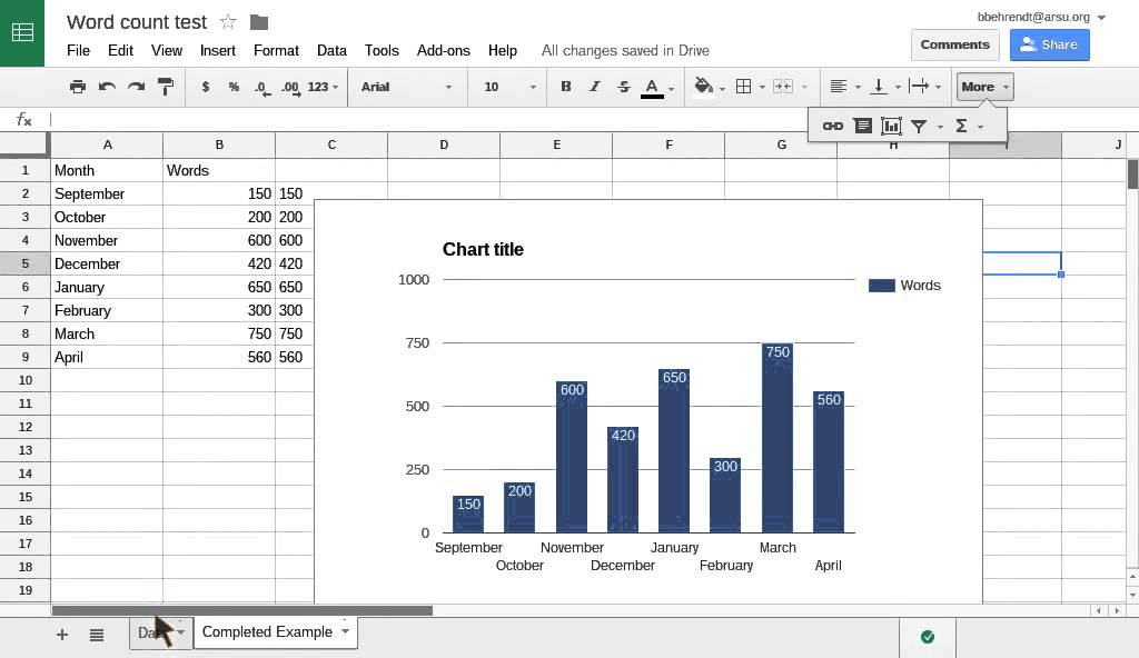 Add labels to a Google chart or graph - YouTube