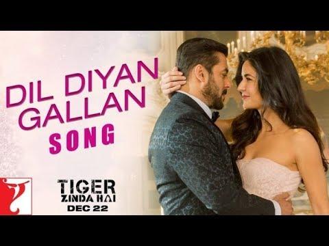 Dil Diyan Gallan Instrumental | Shrikant Sonawane | Tiger Zinda Hai | Salman Khan | Atif Aslam