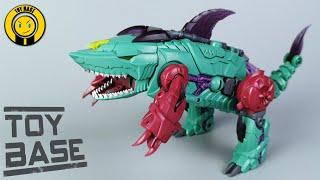 【Evolution Overbite】TFC Toys Transformers P002 Cyberjaw Piranacon Overbite Shark robot toys