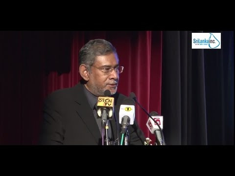 Constitution, Reconciliation and You - Dr. Dayan Jayatilleke