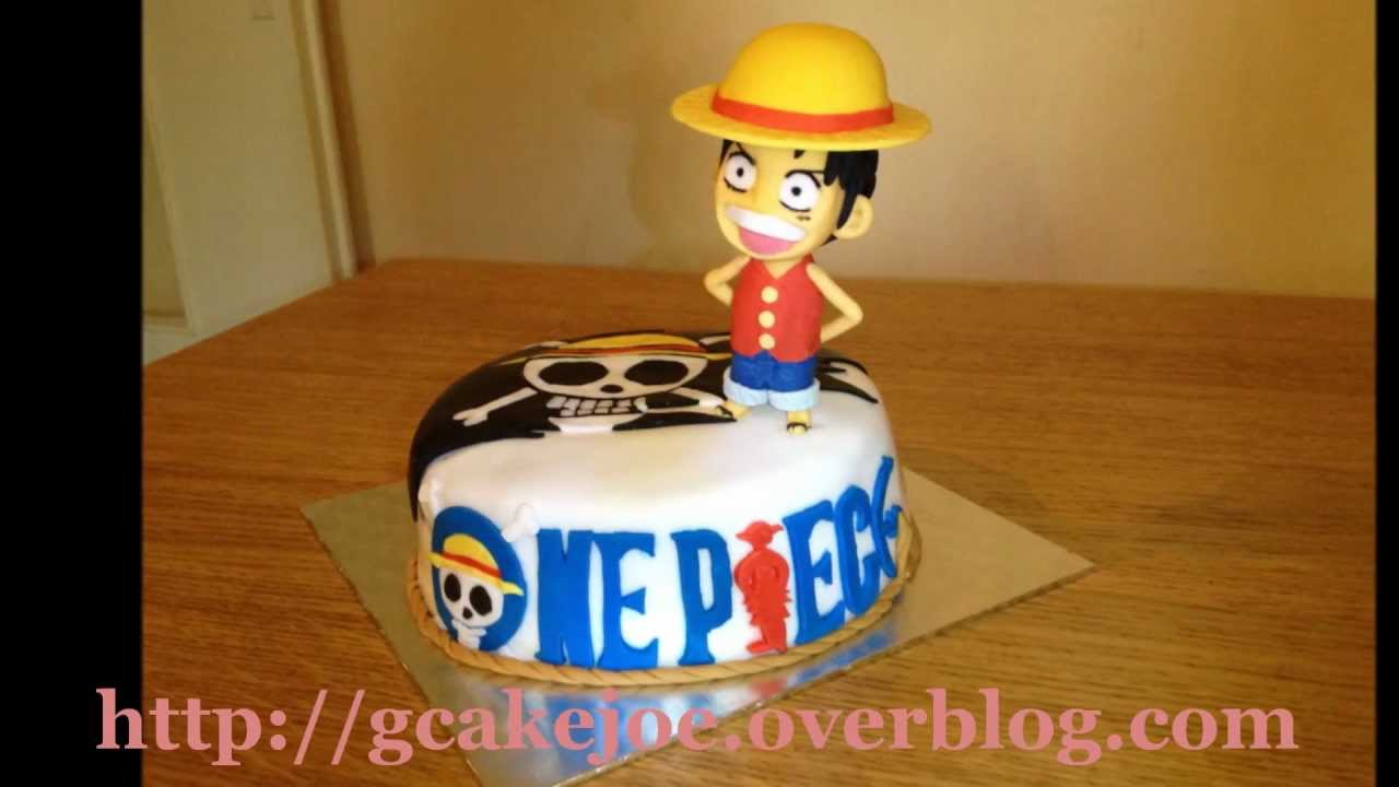 Souvent One Piece gâteau 3D - YouTube AC47