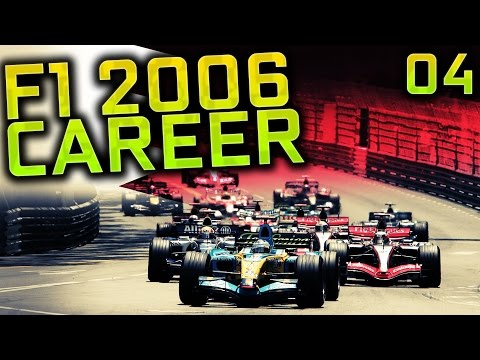 F1 2006 Career Mode S4 Part 4: Monaco Grand Prix