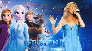 Celine Dion Ft Idina Menzel, Aurora - Into The Unknown   With Special Guest Mariah Carey