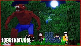 ACHAMOS O LOBISOMEM REI DA ESCURIDÃO! - Minecraft Sobrenatural #11
