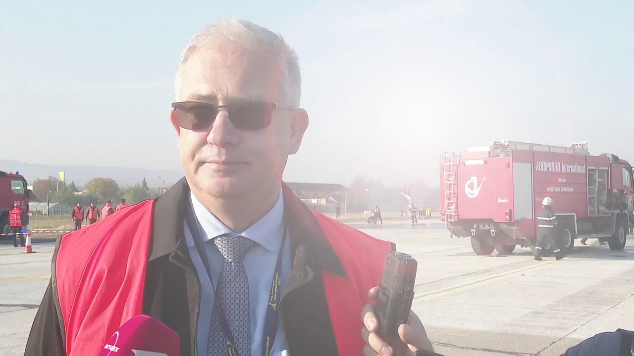 Intervenție la Aeroportul Cluj! (17.10.2019)