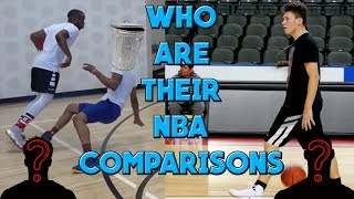 Basketball Youtubers and their NBA Comparisons (Analysis/Review)