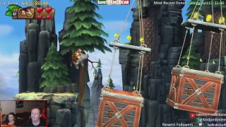 LIVE | FIRST PLAY | Donkey Kong Country: Tropical Freeze | Co-op w/ Emily