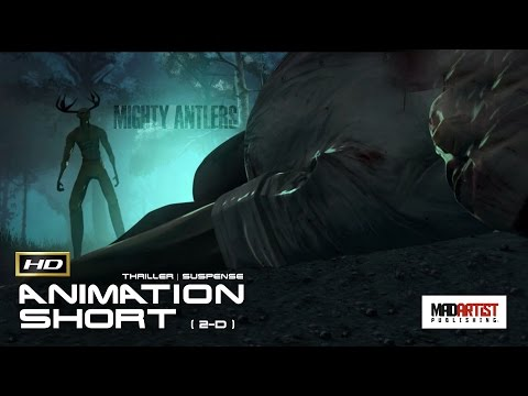 Psychological Thriller CGI 3d Animated Short Film ** MIGHTY ANTLERS ** By The Animation Workshop